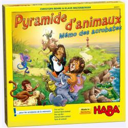 Pyramide d'Animaux : Mémo des Acrobates