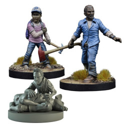 The Walking Dead : Booster Lee et Clementine