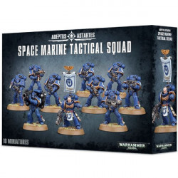 W40K: Space Marine Tactical Squad