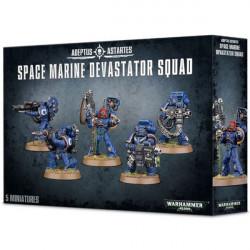 W40K: Space Marine - Devastator Squad