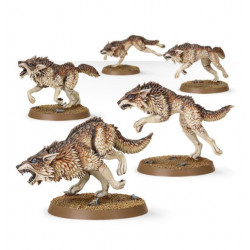 W40K: Space Wolves Fenrisian Wolf Pack