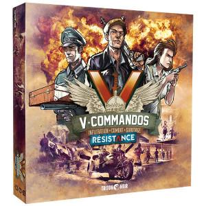 Boite de V-Commandos - Résistance