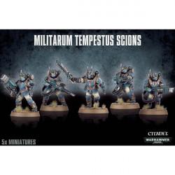 W40K : Militarum Tempestus Scions