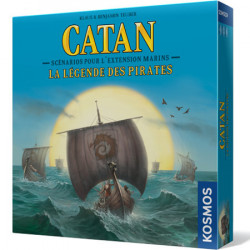 Catan Marins : La Légende des Pirates