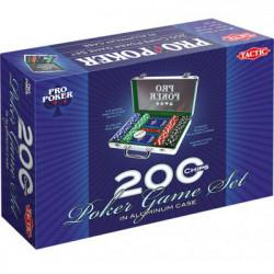 Malette de Poker en Métal 200 Jetons