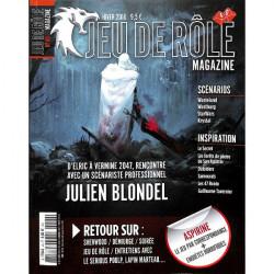 Jeu de Rôle Magazine 40 (Hiver 2018)
