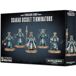 W40K: Thousand Sons - Scarab Occult Terminators