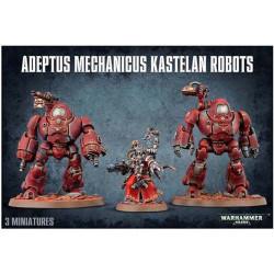 W40K: Adeptus Mechanicus Kastelan Robots