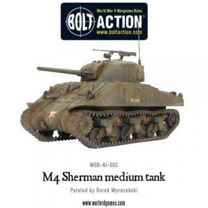 Boite de Bolt Action : M4 Sherman Tank