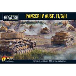 Bolt Action : Panzer IV Ausf. F1/G/H