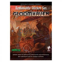 Gloomhaven : Removable Sticker Set