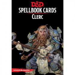 Dungeons & Dragons 5 : Cartes Sorts Clerc