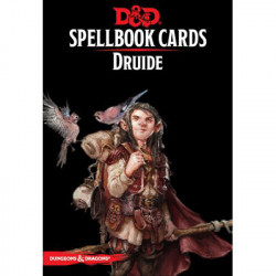 Dungeons & Dragons 5 : Cartes Sorts Druide