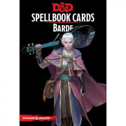 Dungeons & Dragons 5 : Cartes Sorts Barde