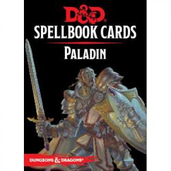 Dungeons & Dragons 5 : Cartes Sorts Paladin