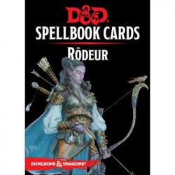 Dungeons & Dragons 5 : Cartes Sorts Rodeur