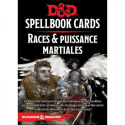 Dungeons & Dragons 5 : Cartes Sorts Puissance...