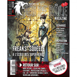 Jeu de Rôle Magazine 41 (Printemps 2018)