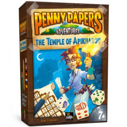 Penny Papers Adventures : The Temple of Apikhabou