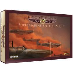 Blood Red Skies - British Supermarine Spitfire...