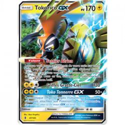 Carte Pokemon Tokorico Gx 170 PV
