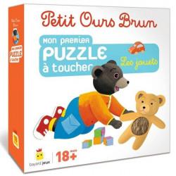 Petit Ours Brun - Puzzle à Toucher -...