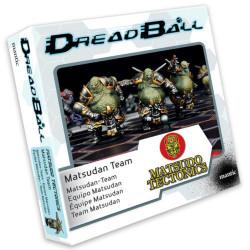 Dreadball 2 : Matsudo Tectonics - Equipe Matsudan