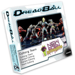 Dreadball 2 : New Eden Revenants -  Equipe Cyborg