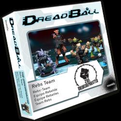Dreadball 2 : The Unincorporated - Equipe Rebelles