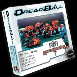 Dreadball 2 : Rotatek Rockslides - Equipe Brokkr