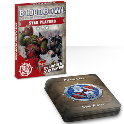 Blood Bowl : Cartes Star Players