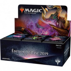 36 Boosters Edition de Base 2019 VF
