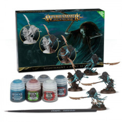 W40K: Nighthaunt + Paint Set
