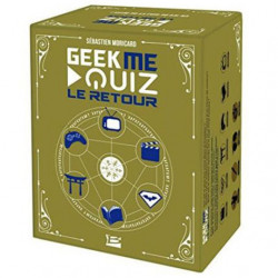 Geek Me Quiz - Le Retour