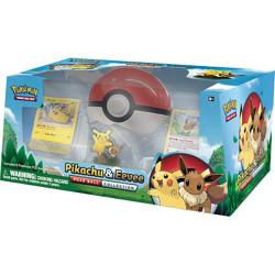 Coffret Pikachu Evoli Pokeball Collection FR