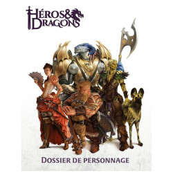 Héros & Dragons - Dossier de Personnage