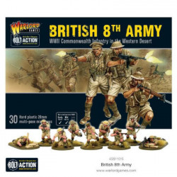 Bolt Action : British 8th Army