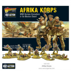 Bolt Action : Afrika Korps WWII German Grenadiers