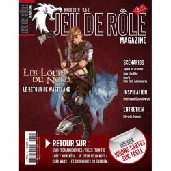 Jeu de Rôle Magazine 44 (Hiver 2019)