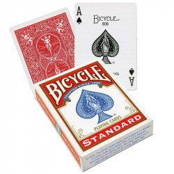 Jeu de 54 Cartes Bicycle Dos Rouge -...