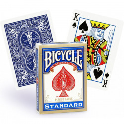 Jeu de 54 Cartes Bicycle Dos Bleu -...