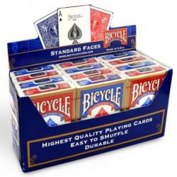 Display de 12 Jeux de Cartes Bicycle - Format...