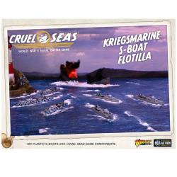 Cruel Seas: Kriegsmarine S-Boat Flotilla (E-Boat)