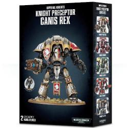 W40K: Knight Preceptor Canis Rex