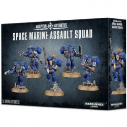 W40K : Space Marine - Assault Squad