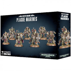 W40K : Death Guard - Plague Marines