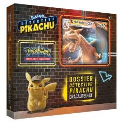 Dossier Détective Pikachu : Coffret Dracaufeu GX
